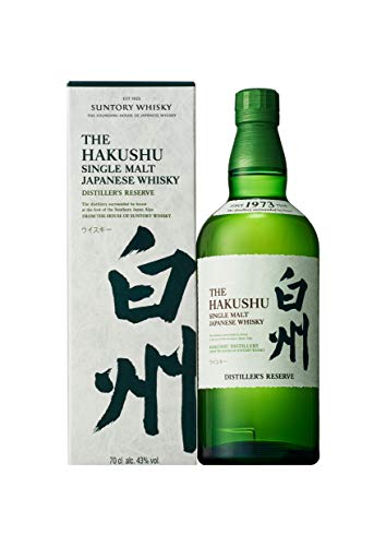 Hakushu Distiller´S Reserve Single Malt Japanese Whisky, 43% - 700 ml